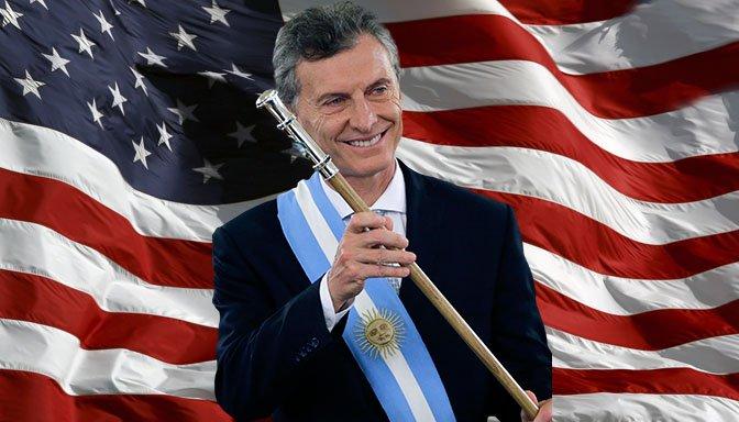 ¡EN EL SUMMUM DEL CIPAYISMO! / Macri pide a EEUU un