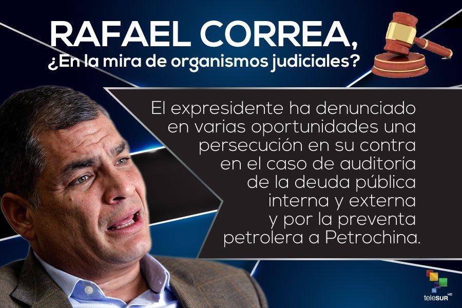 EE UU también (además de Lula) ha ordenado que detengan ahora a Rafael Correa...