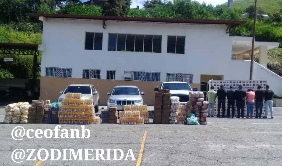 Atrapados bachaqueros de cuello blanco en Mérida (+Garzon)