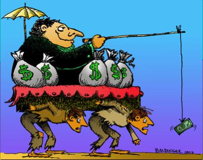 De bolísima, que ser rico es malo...