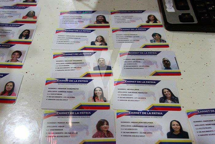 Se ha desatado en Colombia compra y robo del Carnet de la Patria...