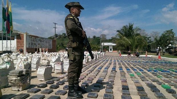 EE UU ama la cocaína colombiana