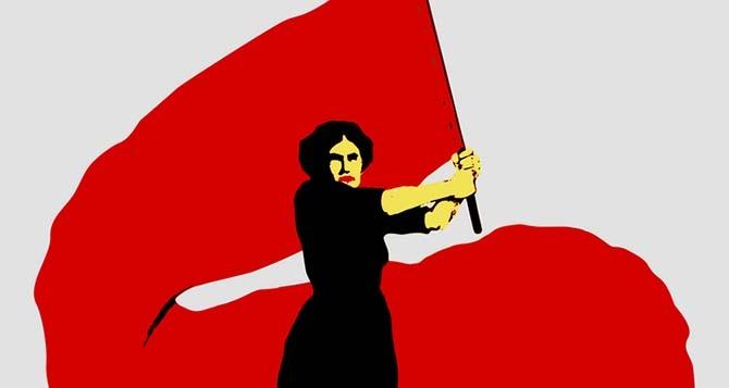 La pinga, pero no es el día de la mujer burguesa! LA LUCHA DE LAS MUJERES POR SU EMANCIPACIÓN