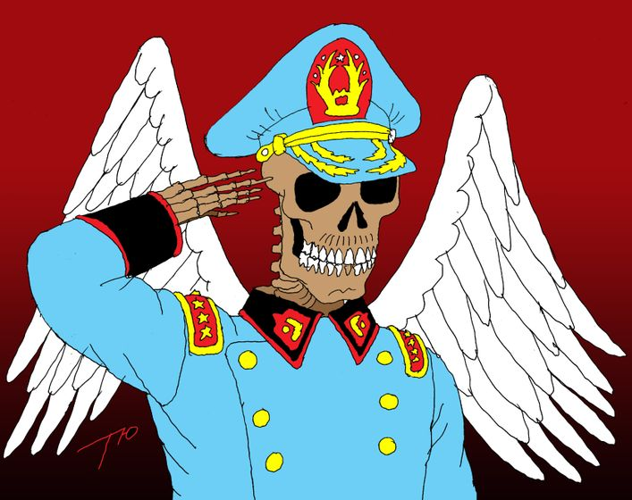 Los suicidios de los condones militares en América... por LUIS GERMAN BRACAMONTE ALVARADO