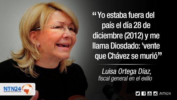 La ex fiscal en plena competencia con María Corina para ver quién está más loca...