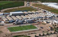 Así son los campos de concentración en los que Trump retiene a miles de niños hispanos... Y la OEA se mete la lengua en el culo!!!