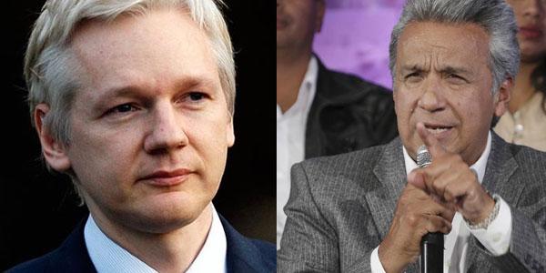 Julian Assange demanda al canalla Lenin Moreno por violar derechos y libertades fundamentales...