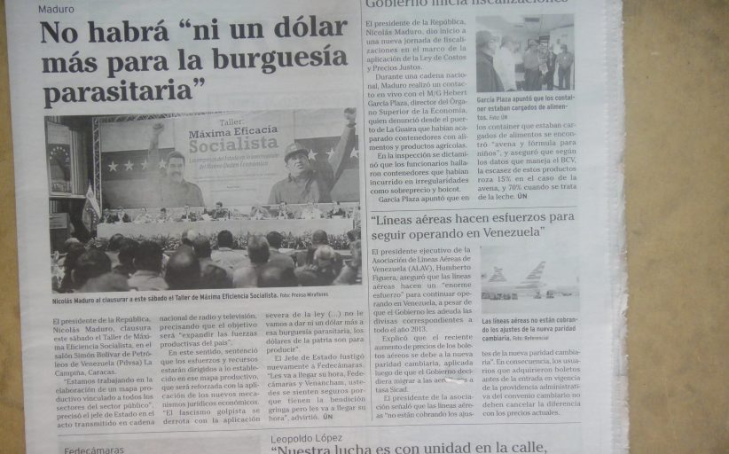 Así fue planificada la total destrucción de Venezuela desde el año 2012... (TERCER ENTREGA de un trabajo de Sant Roz)