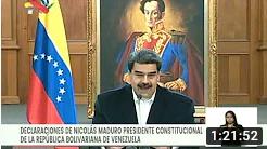 Presidente Maduro cuenta cómo se frustraron las incursiones de mercenarios en lanchas, 4 mayo 2020 (+Video)