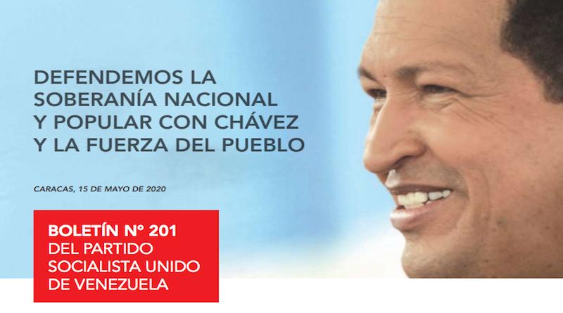 A LEER | Boletín 201 del PSUV: Defensa de la soberanía nacional con Chávez y la fuerza del pueblo (+Descarga)