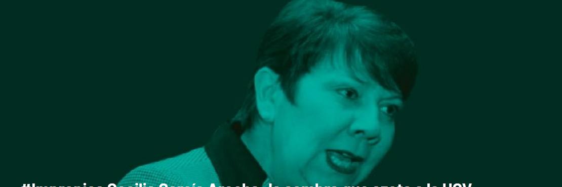 #Impropios Cecilia García Arocha: la sombra que azota a la UCV  (+Video)