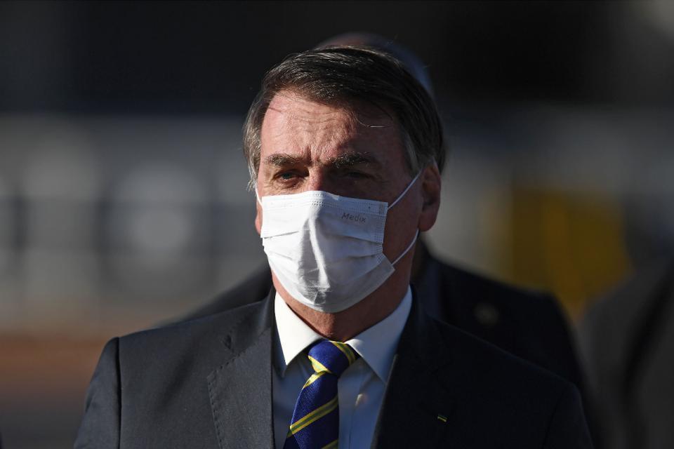 Bolsonaro dio positivo al test de coronavirus