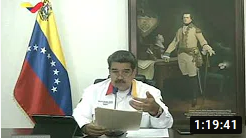 Presidente Maduro dirige inauguración de hospital de campaña en el Poliedro de Caracas para Covid-19 (+Video)