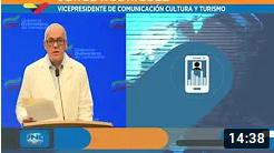Reporte Coronavirus Venezuela, 03/08/2020: 548 nuevos casos y 6 fallecidos, informó Jorge Rodríguez (+Video)