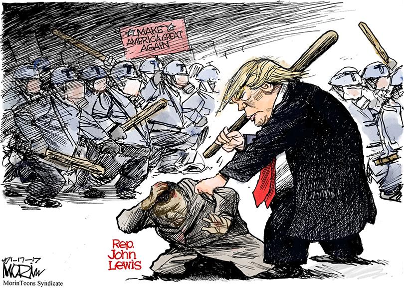 Trump a Cohen: «Dime un gobierno de negros o latinos que no sea una mier…»… Debió decir: «… que no hayamos vuelto mier…»