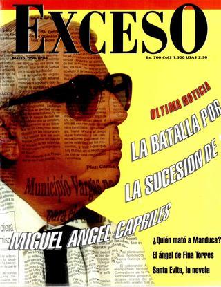 DICCIONARIO DE FARSANTES, el caso de Miguel Ángel Capriles Ayala...