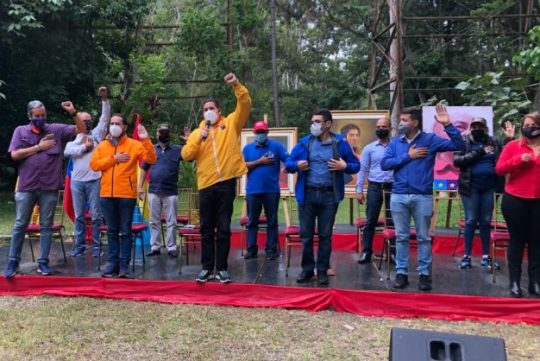 Circuito 1 de Miranda juramentó este sábado su comando de campaña