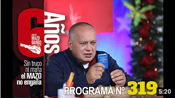 Vea el programa Con el Mazo Dando 11NOV2020 I Trump, Juanito y su combo quedarán en el olvido de la historia