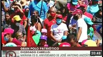 Diosdado Cabello: No olvidamos los problemas, pero tampoco olvidemos las causas que los motivan