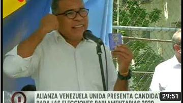 Presentación de Candidatos: Alianza Venezuela Unida apuesta a la unidad para enfrentar bloqueo