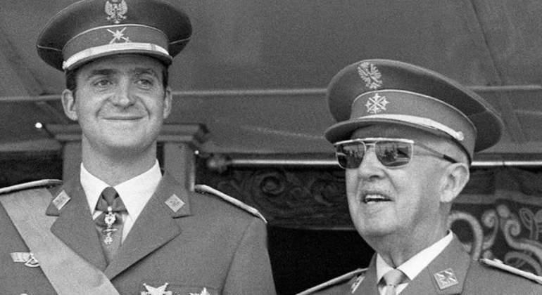 Juan Carlos se hizo confidente de la Casa Blanca y ésta  presionó para que sustituyera a Franco