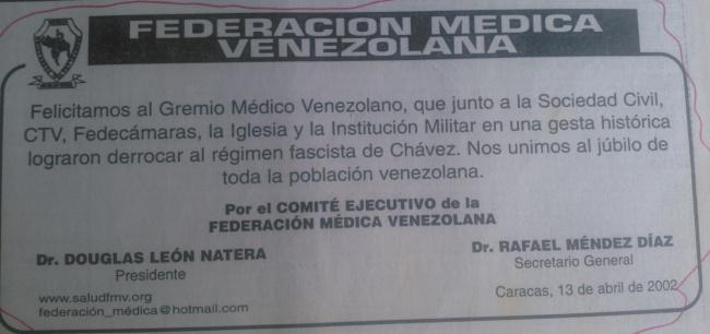Recuerdan al cerdo Douglas León Natera, eterno presidente de la FEDERACIÓN MÉDICA VENEZOLANA? Miren esto:…